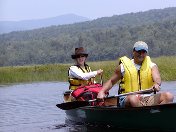 Canoeing on the Androscoggin River